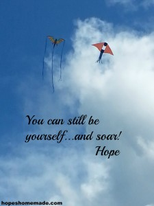 You can still be yourself... and soar!