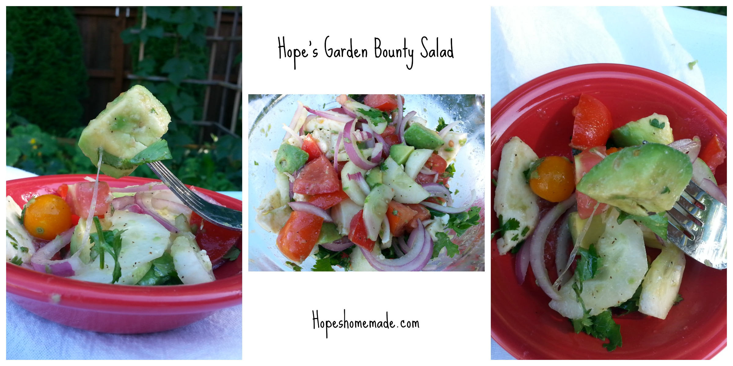 A simple, and so yummy way to use your garden bounty!